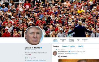 Trump not allowed under First Amendment to block critics on Twitter