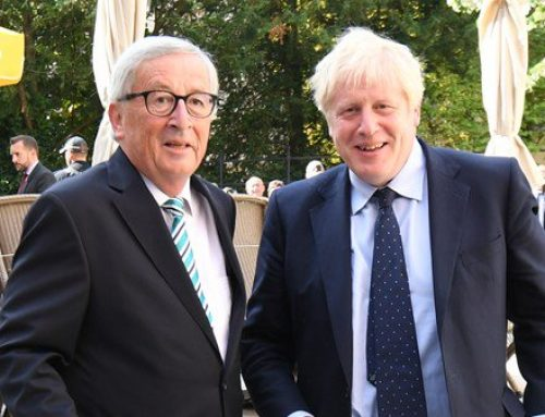 Boris Johnson's 'ambush' in Luxembourg makes headlines