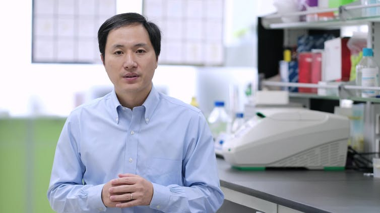 He Jiankui. The He Lab/Wikipedia, CC BY-SA