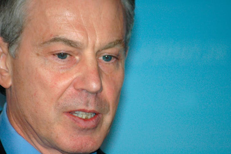 Tony Blair put distance between the people and politics. Shutterstock